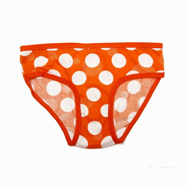 Girls Panty - Orange