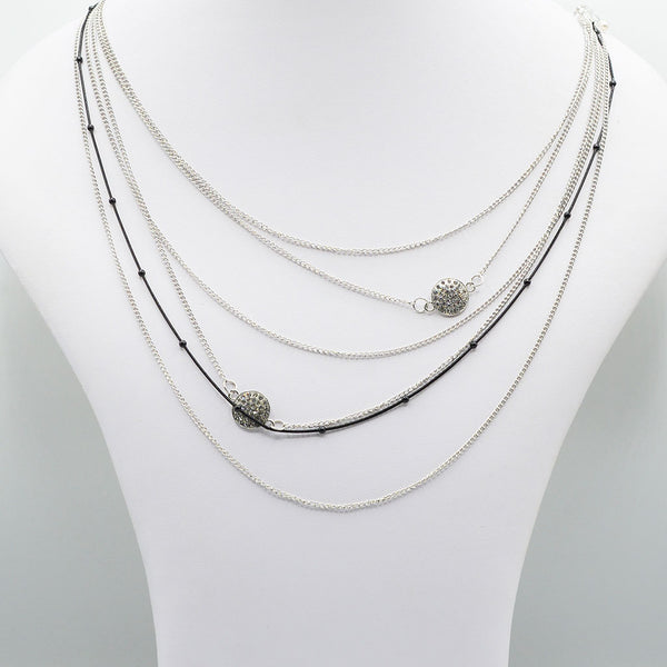 Multirow Casual Necklace  O-10