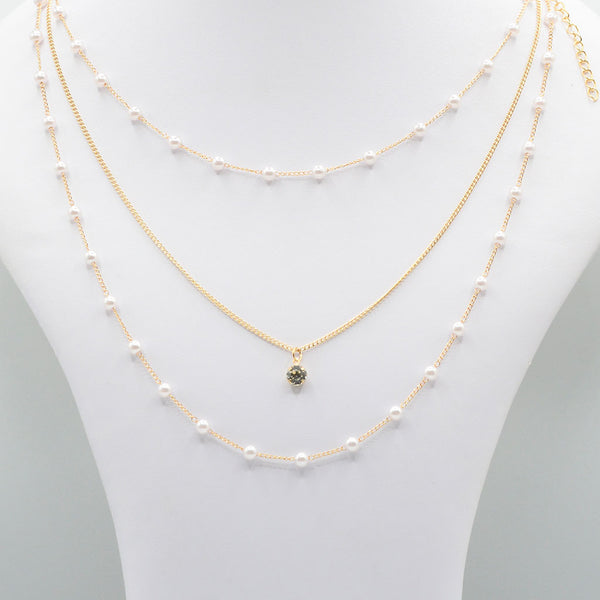 Multirow Casual Necklace  O-3