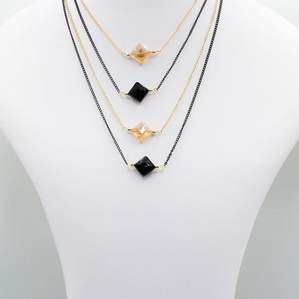 Multirow Casual Necklace  O-5