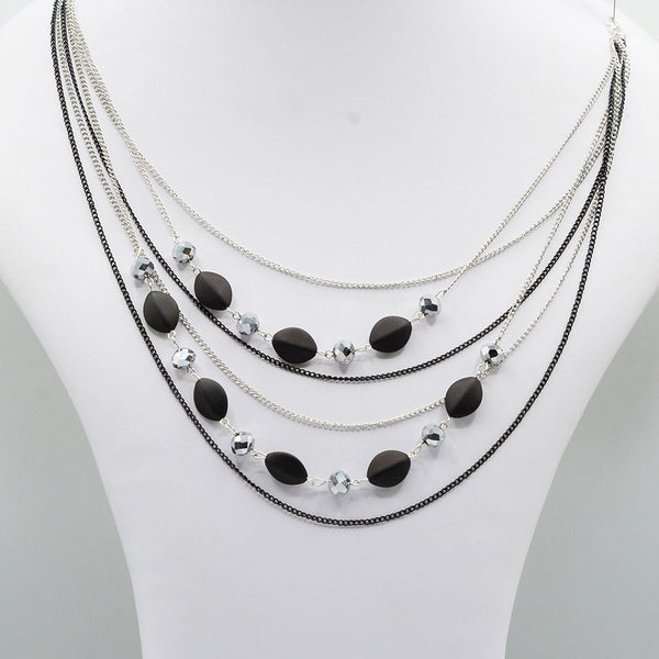 Multirow Casual Necklace  O-7