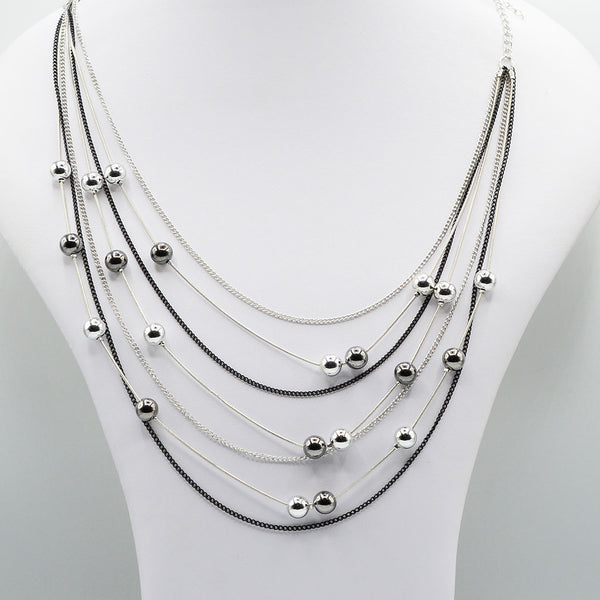 Multirow Casual Necklace  O-9