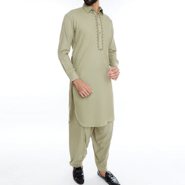 Lime Light Men Embroidered Shalwar Suit