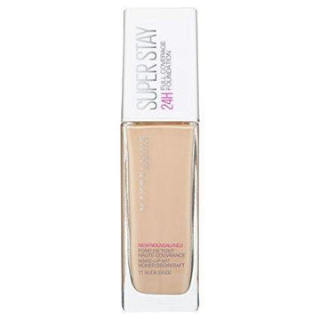 Superstay 24H Full Coverage Liquid Foundation - 21 Nude Beige