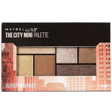 The City Mini Eyeshadow Palette - Rooftop Bronzes