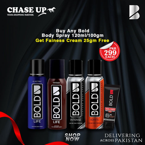 Bold Special Ignite Body Spray Get Fairness Cream Free