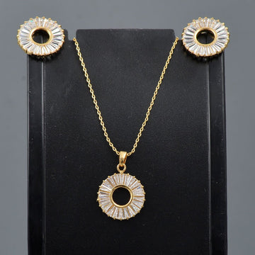 Zircon Locket Set