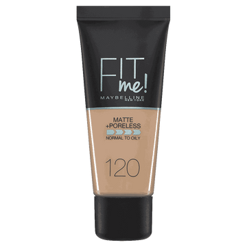 Fit Me Liquid Foundation - 120 Classic Ivory
