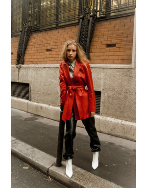 L'ultime trench en cuir