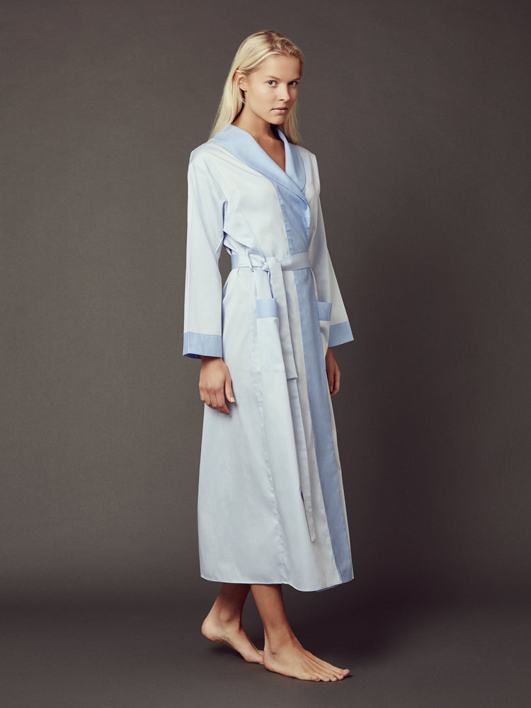 Load image into Gallery viewer, Loren Blue Robe