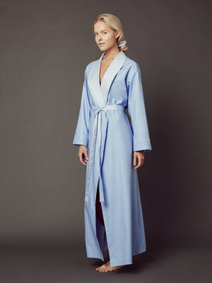 Load image into Gallery viewer, Loren Blue Reversible Robe