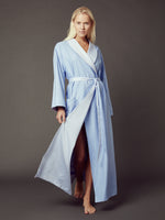Loren Blue Reversible Robe