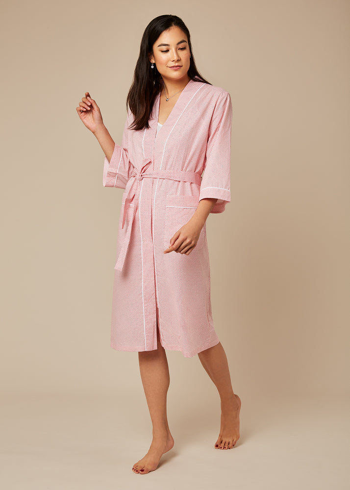 Taylor Red Shell Robe