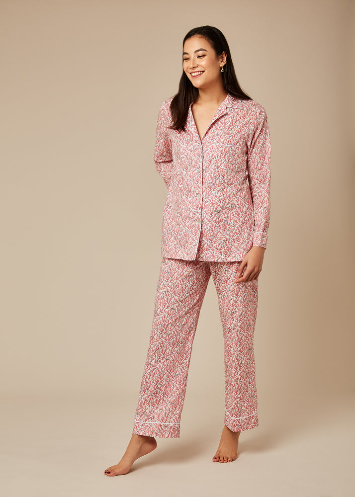 Load image into Gallery viewer, Hardy Coral Pyjamas