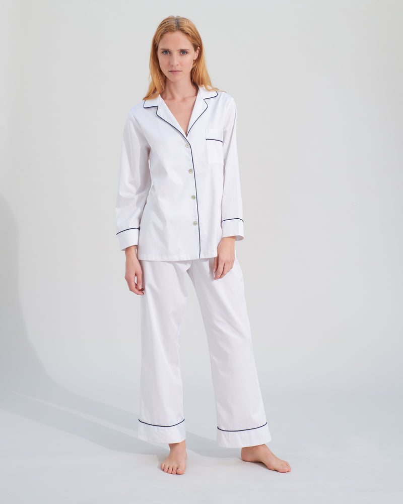 Load image into Gallery viewer, Hardy White Pyjamas