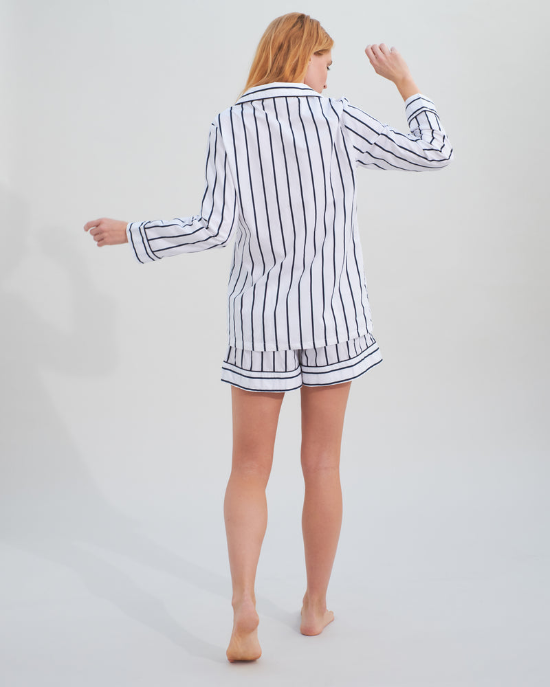 Load image into Gallery viewer, Stripy Pyjama Short Set