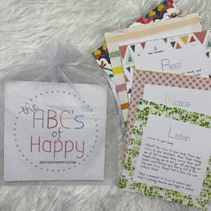 The ABC's of Happy cards, The Sober Box Co