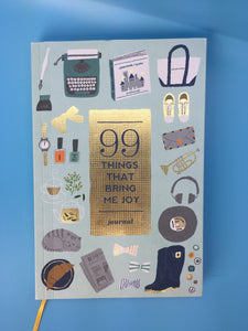 99 Things That Bring Me Joy Book
