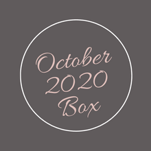 Load image into Gallery viewer, October 2020 Box-Letting Go