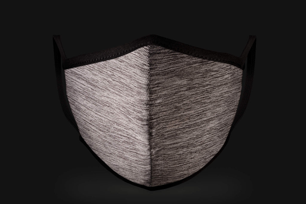 Black/White Stripes - Mason Brand Mask