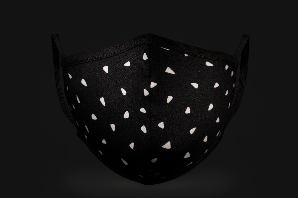 Black & White Polka Dot - Mason Brand Mask