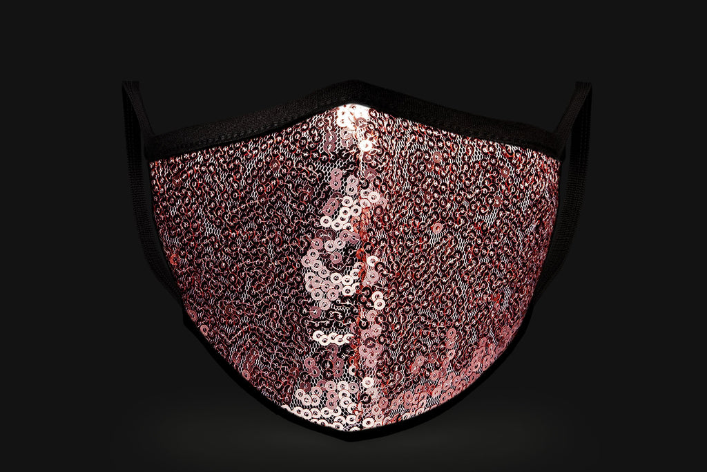 Pink Sequin - Mason Brand Mask