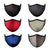Black - Red - Blue - Charcoal - LIght Olive Green - BlackWhite Stripe | Face Mask | 100% Cotton | Made in USA | Reusable | Comfy Protective Washable Covering Cloth - Mason Brand Mask