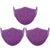 Mason Brand Masks Grape Purple | 100% Cotton | Made in USA | Reusable, Adult Unisex, Size: One size (3 Pack) - Mason Brand Mask