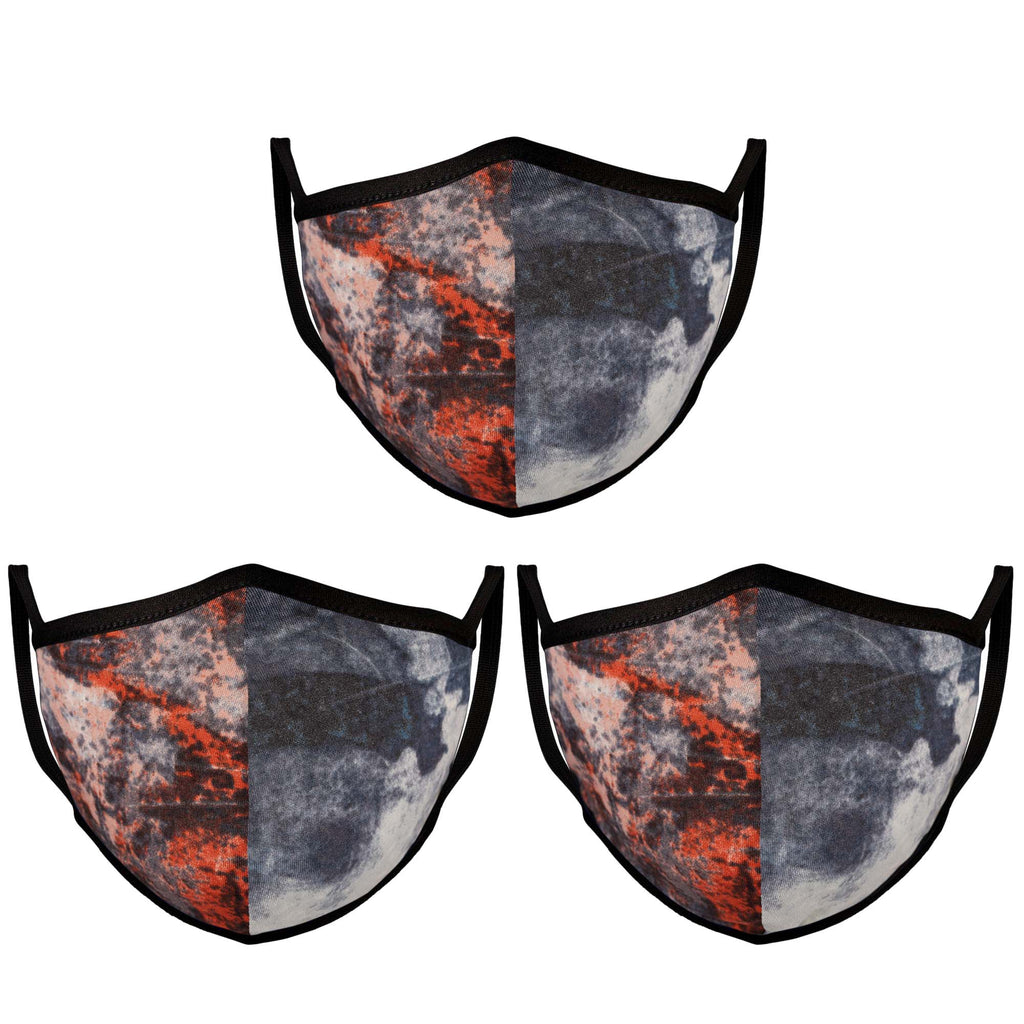 Mason Brand Masks Dark Abstract | 100% Cotton | Made in USA | Reusable, Adult Unisex, Size: One size (3 Pack) - Mason Brand Mask