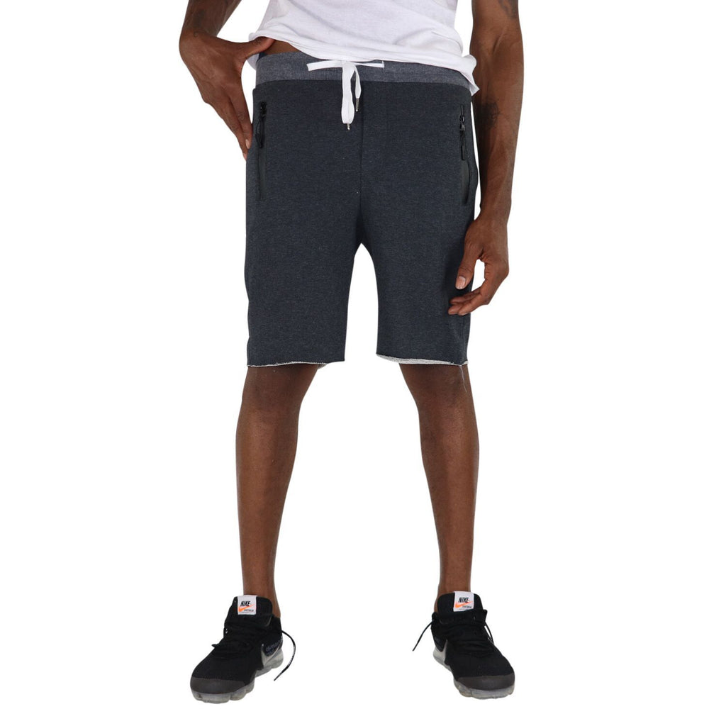 French Terry Shorts, Charcoal