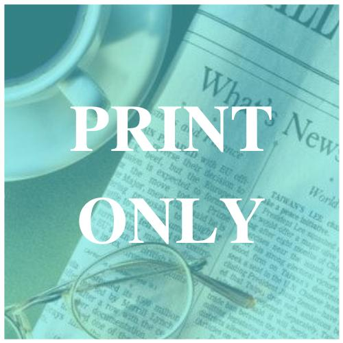 Print Only Subscriptions