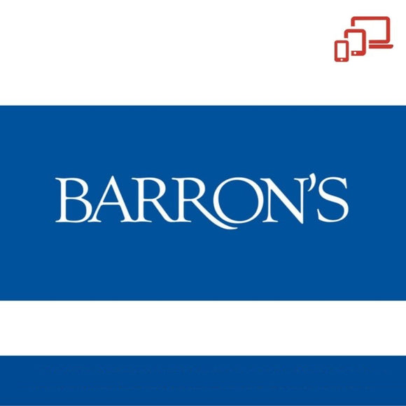 Barron's Newspaper (Digital) 1-Year Subscription