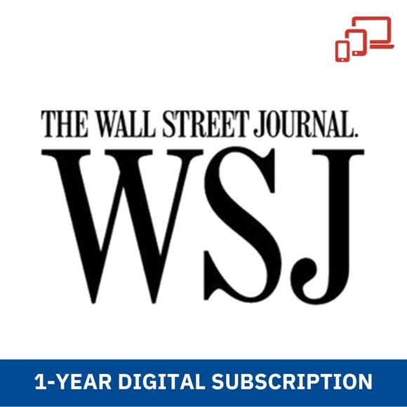Wall Street Journal (Digital) 1-Year Subscription