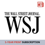 Wall Street Journal (Print) 1-Year Subscription