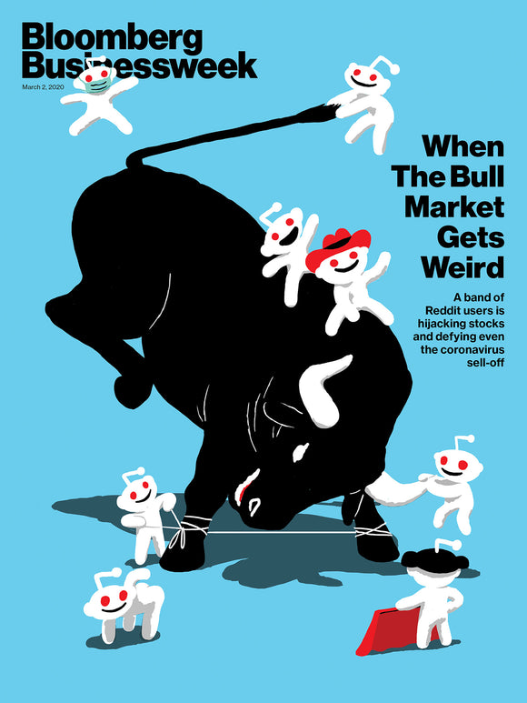 Bloomberg Businessweek 1 Year (50 Issues) Subscription