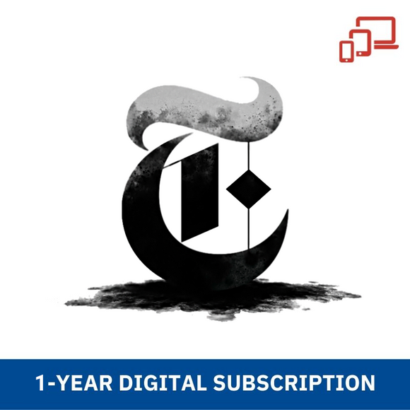 The New York Times 1-Year (Digital) Subscription