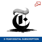 The New York Times 3-Year (Digital) Subscription