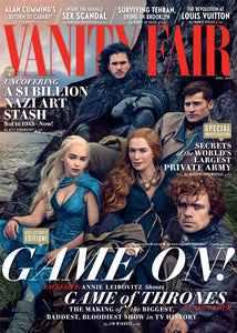 Vanity Fair 1 Year (12 Issues) Subscription