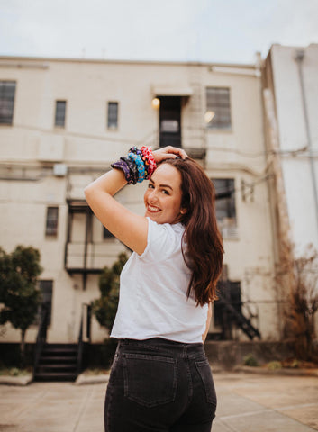 Photography by Sarah Edwards for The Scrunchie Club