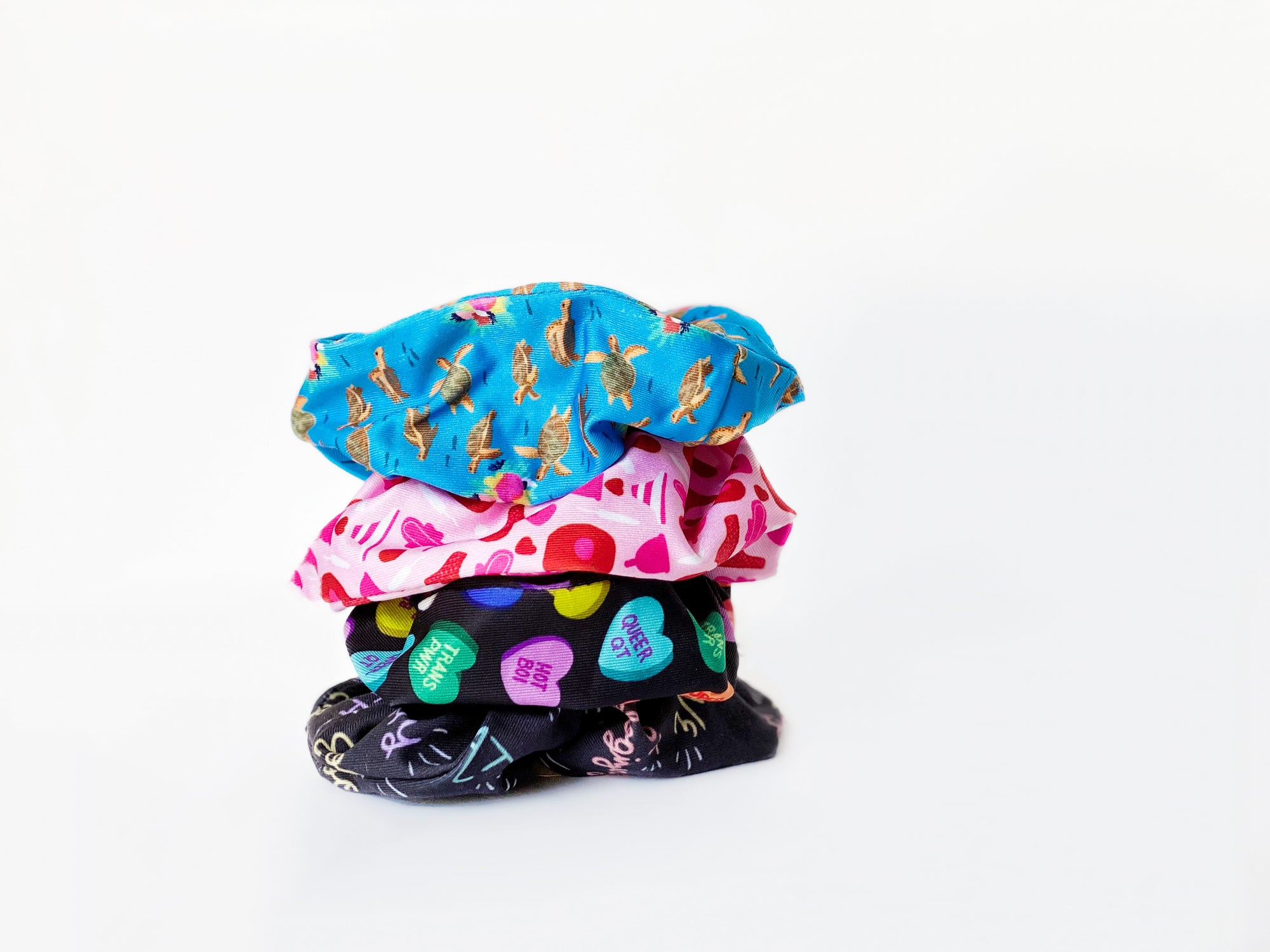 unique scrunchie designs by independent artists