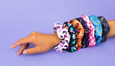 can you get scrunchies wet