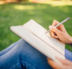 Keeping a gratitude journal can have significant affects on your well being