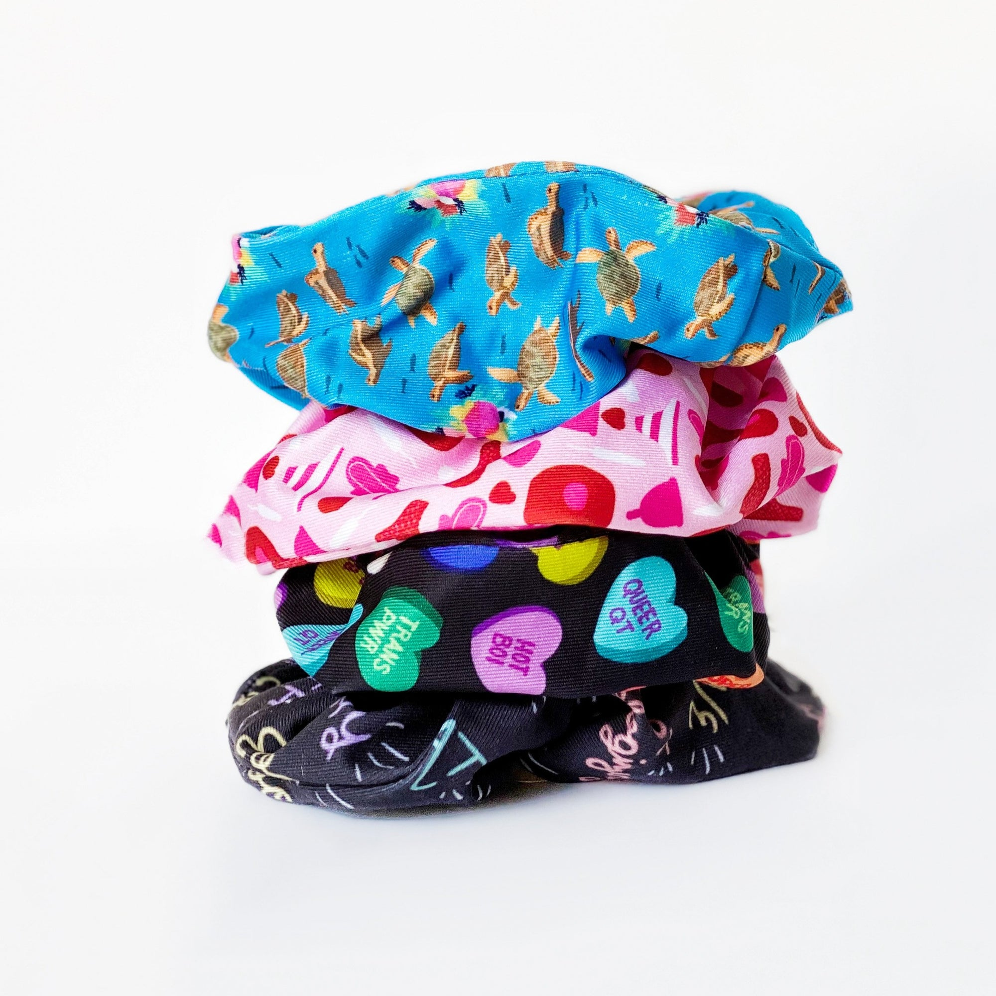 starter scrunchie collection