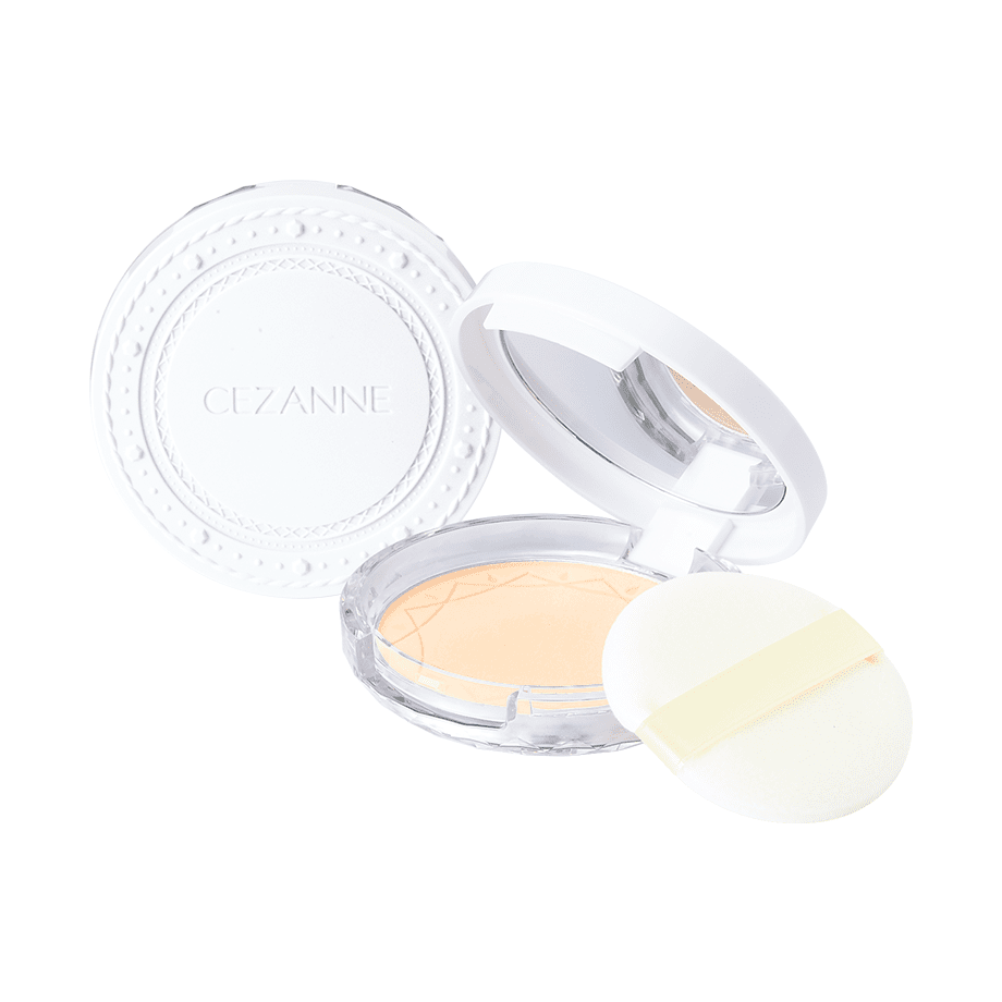 CEZANNE UV clear face powder #jasny beż