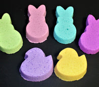 * Bunnies & Chicks Set Bath Bombs