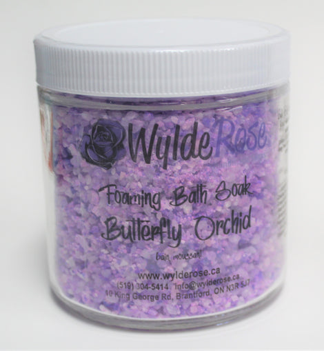 Butterfly Orchid Foaming Bath Soak