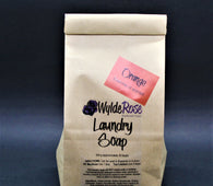 Orange Laundry Soap