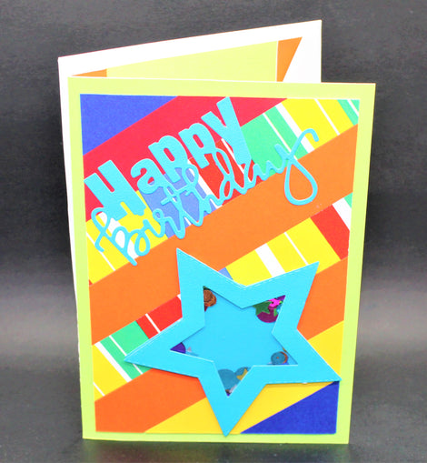 Happy Birthday Paper Card