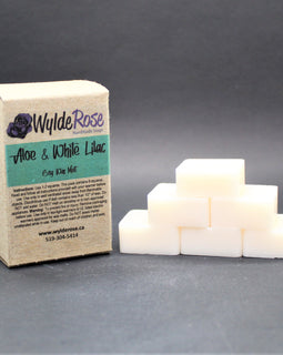 Soy Wax Melt - Aloe & White Lilac