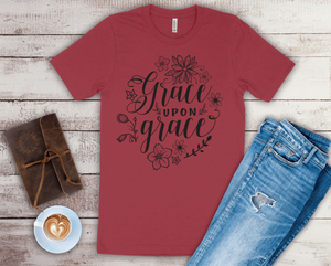 Grace Upon Grace Women's Short Sleeve Tshirt